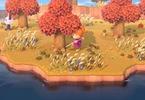 Obrázek ze hry Animal Crossing: New Horizons + hadřík na displej