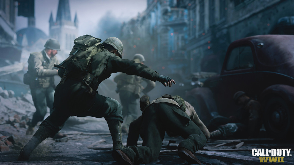 Obrázek ze hry Call of Duty: WWII