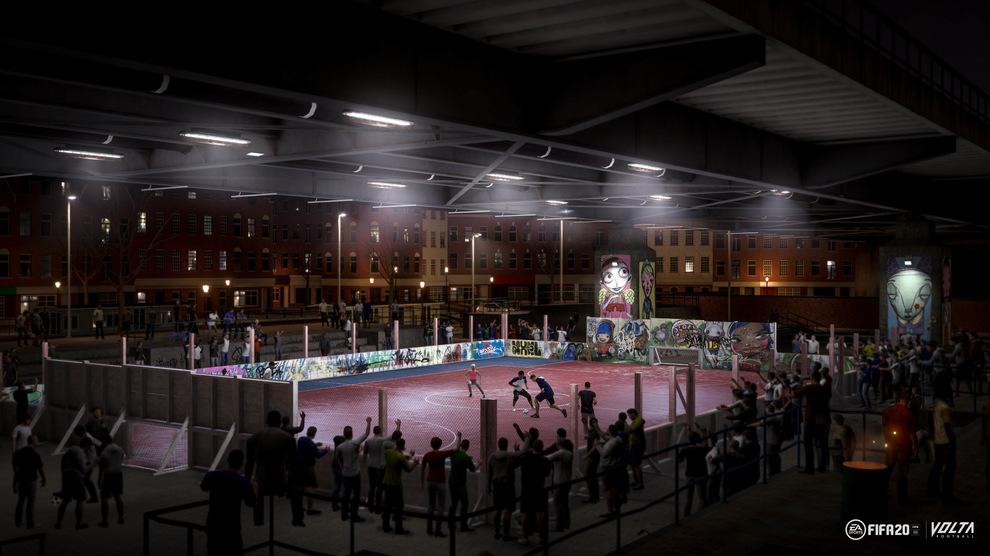 Obrázek ze hry FIFA 20 + DLC