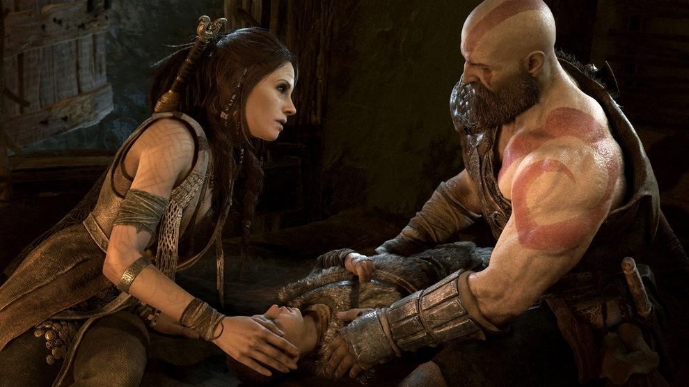 Obrázek ze hry God of War