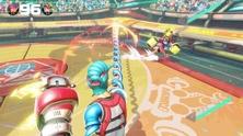 Obrázek ze hry Ovladače Joy-Con - šedé + ARMS bundle