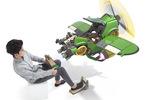Obrázek ze hry Nintendo Labo Vehicle Kit + zápisník a klíčenka