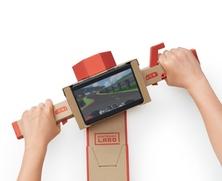 Obrázek ze hry Nintendo Labo Variety Kit + zápisník a klíčenka