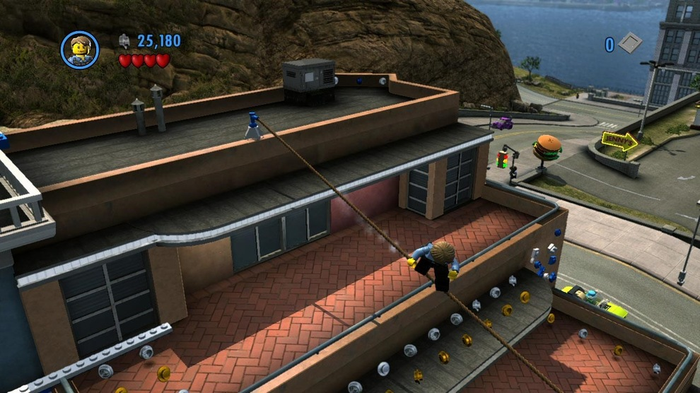 Obrázek ze hry LEGO City: Undercover