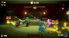 Obrázek ze hry Luigi's Mansion 3 + samolepky