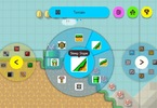 Obrázek ze hry Super Mario Maker 2 + blok, samolepky a klíčenka