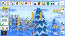 Obrázek ze hry Super Mario Maker 2 + klíčenka