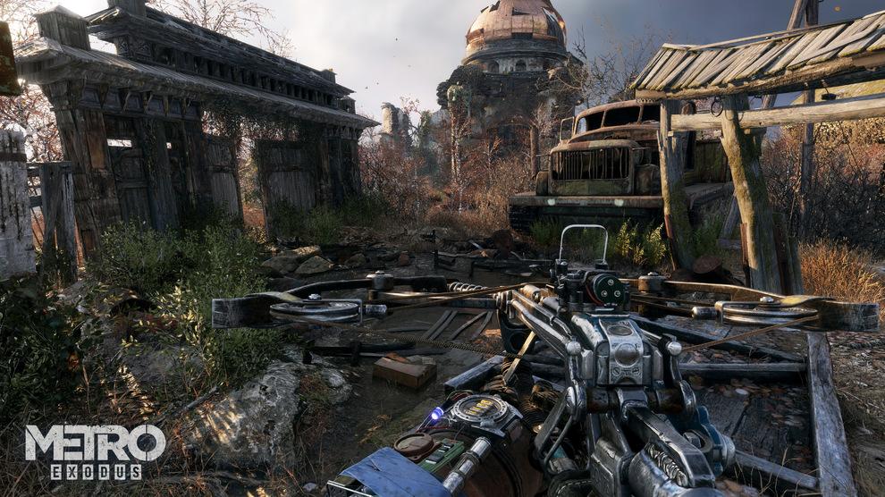 Obrázek ze hry Metro: Exodus