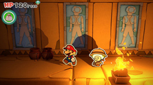 Obrázek ze hry Paper Mario: The Origami King + origami