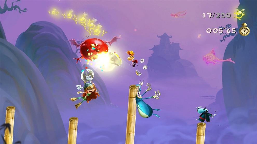 Obrázek ze hry Rayman Legends: Definitive Edition + Winx Club: Párty zdarma