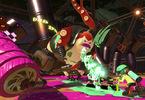 Obrázek ze hry Splatoon 2 + plakát