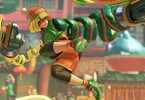 Obrázek ze hry ARMS + plakát