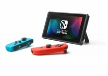 Obrázek ze hry Herní konzole Nintendo Switch s Joy-Con - modro-červená + Splatoon 2 bundle