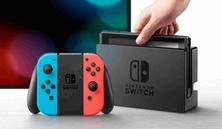 Obrázek ze hry Herní konzole Nintendo Switch s Joy-Con - modro-červená + Super Mario Odyssey + Splatoon 2 bundle