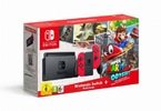 Obrázek ze hry Herní konzole Nintendo Switch s Joy-Con - červená + Super Mario Odyssey bundle