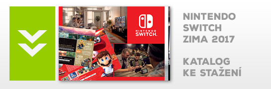 Nintendo Switch katalog Zima 2017
