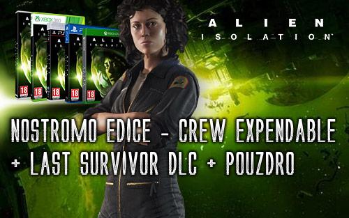 Alien: Isolation již od 898 Kč + dárky