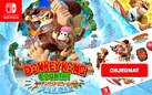 Donkey Kong + klíčenka a samolepky