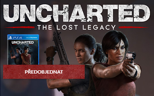 Uncharted: The Lost Legacy + hra zdarma