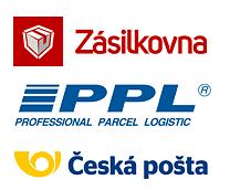 Zásilkovna, PPL, Česká pošta