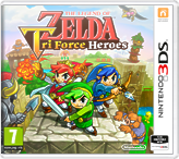 The Legend of Zelda: Tri Force Heroes + přívěšek na klíče