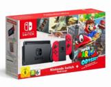 Herní konzole Nintendo Switch s Joy-Con - červená + Super Mario Odyssey bundle