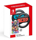Joy-Con Wheel Pair + Mario Kart 8 Deluxe bundle