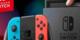 Herní konzole Nintendo Switch s Joy-Con - modro-červená